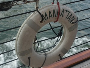 Manhattan is a Life Saver  (I took this photo on a NY Harbor Line Cruise)