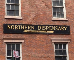 Northern Dispensary - Empty but Full of History