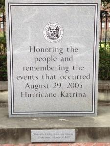 Honoring.
