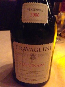 Gattinara at SideBern's