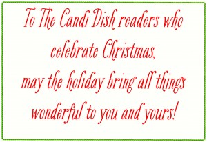 Dishing Christmas Wishes 2013!