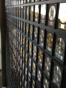 Gold Records at The Country Music Hall of Fame