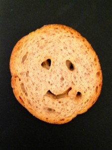 Melba toast tired smiley! (New York, NY)