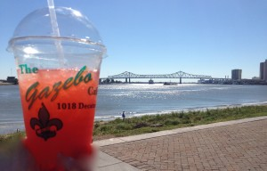 Frozen beverage & the mighty Mississippi River