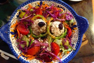 """Olive"" Your Eyes Greek Salad! (Athenian Gardens, St. Petersburg FL)"
