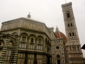 Battistero di San Giovanni (Florence Baptistery) & Giotto's Campanille (Bell Tower)