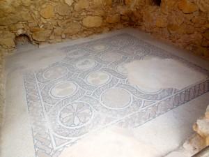 Palatial marble mosaic floor