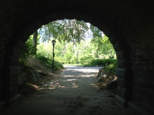 One of many Central Park passages