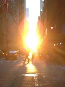 """""""Manhattanhenge"""" 2013"""