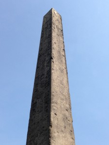The Obelisk in Central Park is over 3,500 years old and is the oldest outdoor monument in NYC