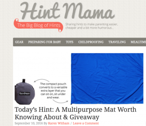 Hint Mama shares valuable tips with busy parents!